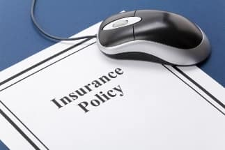 Insurance policy with computer mouse
