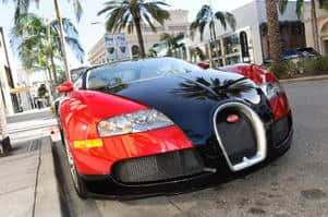 Bugatti Veyron car insurance claim