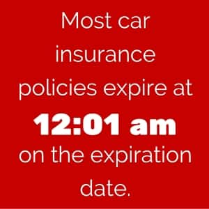 Check Car Insurance Expiry Date >> Know Exactly When Your Auto Coverage Expires Carinsurance Com