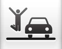 Jump for joy by car
