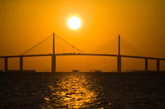 Sunshine Skyway in Tampa