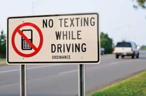 Self driving cars allow unlimited texting