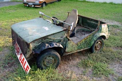 salvaged car for sale